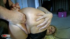 Skinny French Milf Evy Sky ass fucked for money