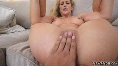 Redhead milf smoking blowjob Cherie Deville in