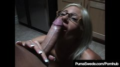 Busty Dirty Talking Puma Swede Sucks On A Big Cock POV!