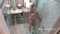 Couple fucking in the shower