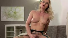 Kathia Nobili - Busty Blonde Pleased With Dick