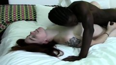 Hot milf fucked by big black cock into interracial