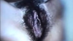 Tunisian MILF Fingering Her Hairy Pussy