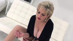 Unfaithful english milf lady sonia exposes her monster breas