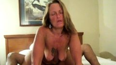 Blonde amateur milf does anal on pov camera 11