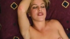 Attractive blonde skank Genee Rodgers has a fuck session
