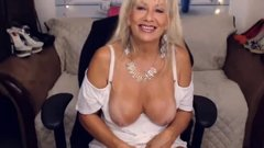 milf in white stockings masturbate ohmybod