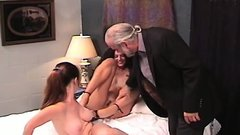 Hot butt women in sensational non-professional lesbian show