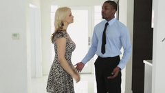 Cuckolding MILF drilled by big black cock