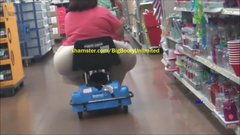 Extreme Mart Kart (ChairBuster) Latina Granny Booty