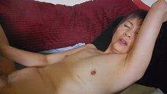 Amateur Asian MILF And Plump Caucasian Woman