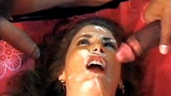 Shanna Gets Her Face Covered In Cum