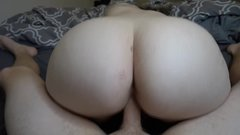 Amateur PAWG MILF rides cock like a pro