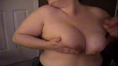 Cum Shower For Busty BBW MILF In Pantyhose