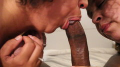 Momma and daughter share Mother's Day Dick