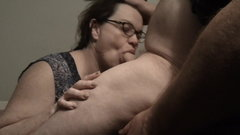 Hot French Maid Sucks Cock And Swallows Cum
