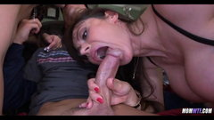 Nice Threesome with Slut MILF