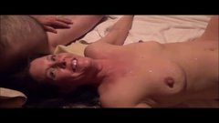 Cuckolds woman is rutted like a whore at the swinger party!
