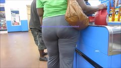 Phat Booty Dark-Gray Pants Vpl Lady