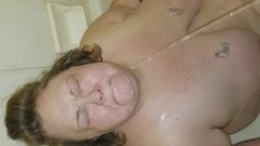 Milf ssbbw golden shower again