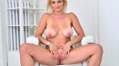 Big titted blonde MILF from Czech Rep.