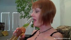 Grandma Sucks A Mean Cock
