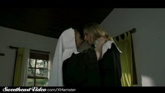 Mature Lesbian Nun Nina Hartley Sins With MILF Lover