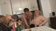 Older MILFs having a fucking party