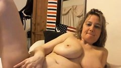 Busty blonde milf enjoys a big cock in her cunt