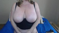 Dirty talking curvy MILF Zoey Andrews with monster tits