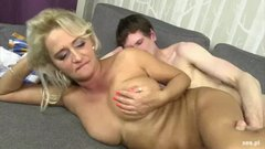 Polish MILF Fucks Younger Guy