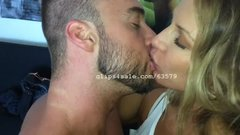 Alfie and Zsofia Kissing Video 4