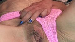 Anyone Mind if I Adjust My Pink Lacey Panties? Says Sassy Cougar Milf Wife