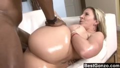 Milf Sara Jay Loves Black Cock