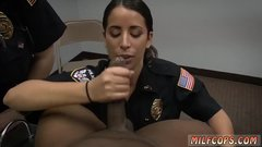 Brunette office stockings night blowjob partner' crony's sister Milf Cops