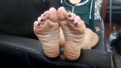 Beautiful milf soles