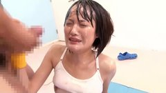 top rated japanese teen facials compilation