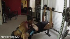 workout turns into hot fucking with sexy ebony milf  premium full HD